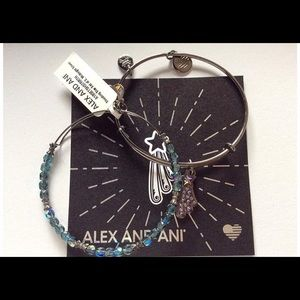 Brand new Alex and ani shooting star